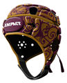 Impact Tribal Maroon-Gold Headguard : Click for more info.