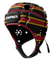 IMPACT Stripe Black-Red Headguard : Click for more info.